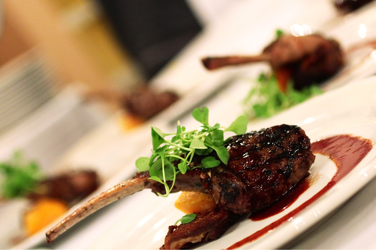 Franciscan Estates Wine Dinner Lamb Chop
